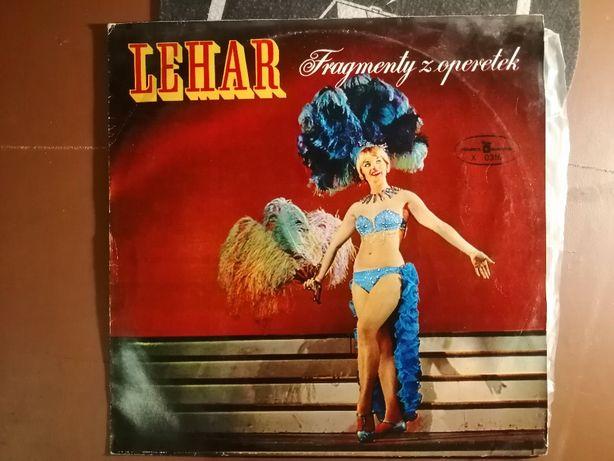 Franz Lehar - Fragmenty z operetek LP VG 1966