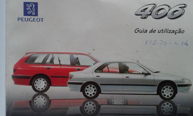 Guia de utilização do Peugeot 406 original