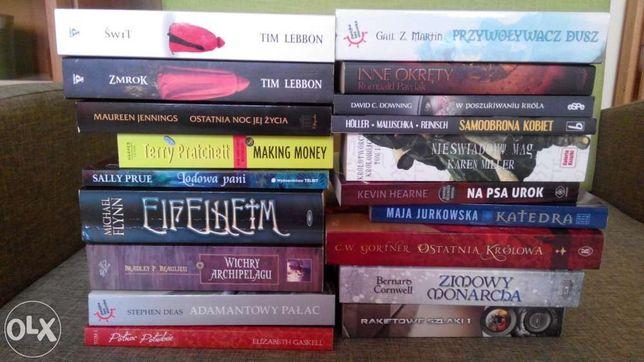 Książki FANTASTYKA Brzezińska Lebbon Pratchett Piekara nowe/używ