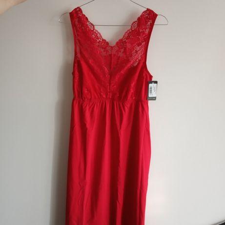 Koszulka damska Donna czerwona L