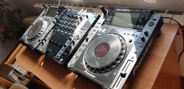 Pioneer CDJ2000, odtwarzacze, playery, dj, kontroler, mp3, konsola dj
