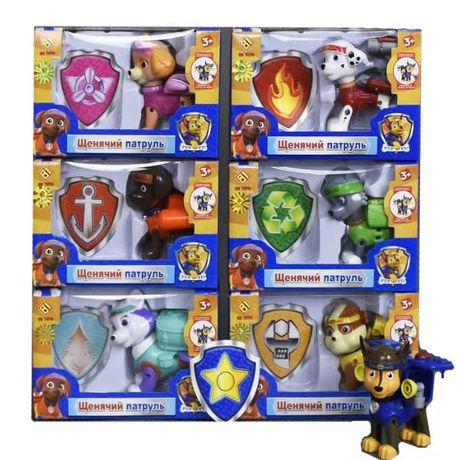 Щенячий патруль, Рокки,Эверест,Зума,Гончик,Крепыш Фигурки игрушка