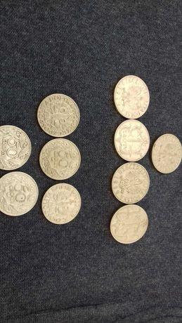 Монети Польща 1 злотий 1929 року,50 грош 1923 року продам одним лотом.