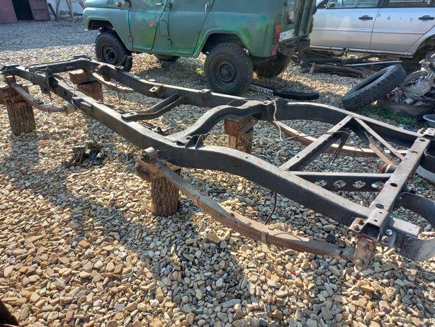 Рама ресори УАЗ 469 на прицеп трактор