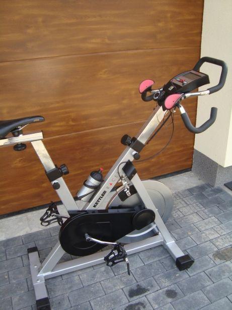 Rower spiningowy Kettler Racer magnetyczny stacjonarny treningowy