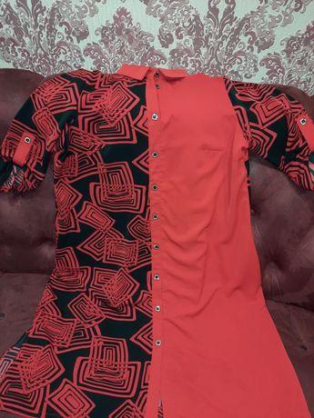 Платье-рубашка и рубашка