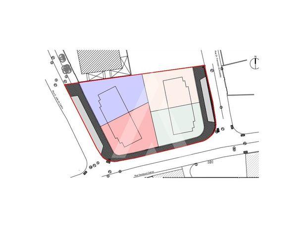 Terreno para construção de 4 moradias perto do centro de ...