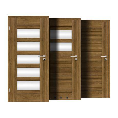 Drzwi wewnętrzne w 7 Dni pokój, łazienka, szklone DRE SELENE 2