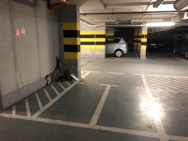 Miejsce parkingowe dla motocykla