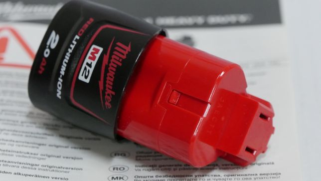 MILWAUKEE bateria 12v 2Ah akumulator wkretarka klucz pila