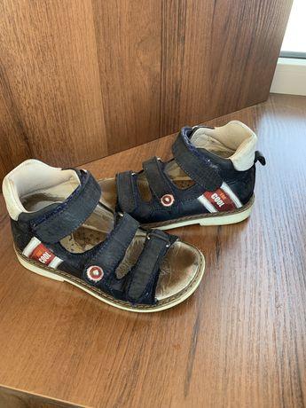 Босоніжки Tutubi, босоножки на мальчика, ортопедичне взуття