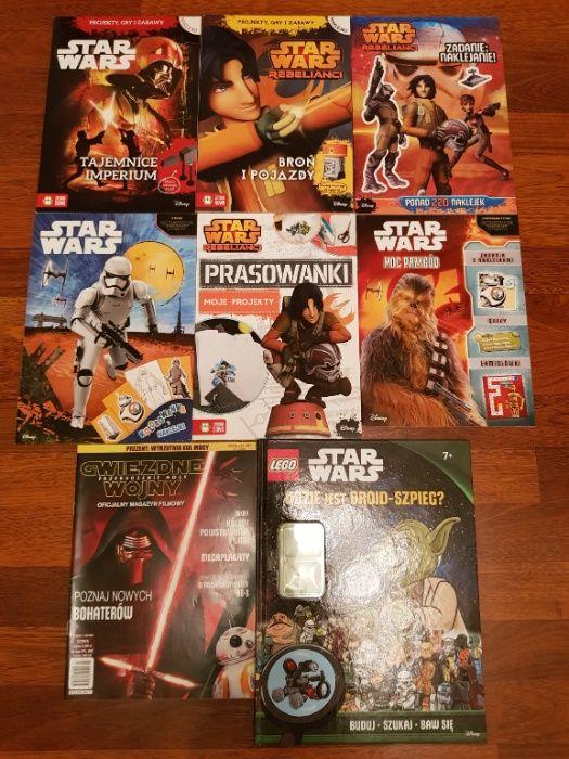 Star Wars - gry, zabawy, kolorowanki, naklejki 8 zeszytów Warszawa - image 1