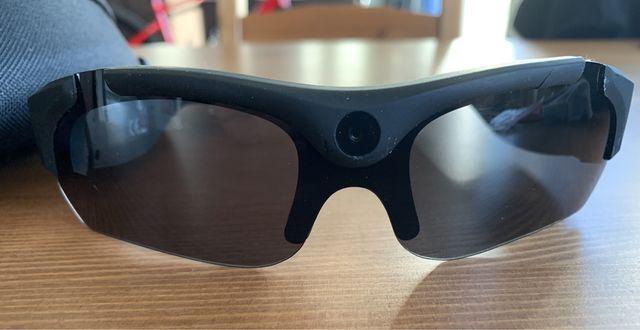 Okulary sportowe z kamerą HD