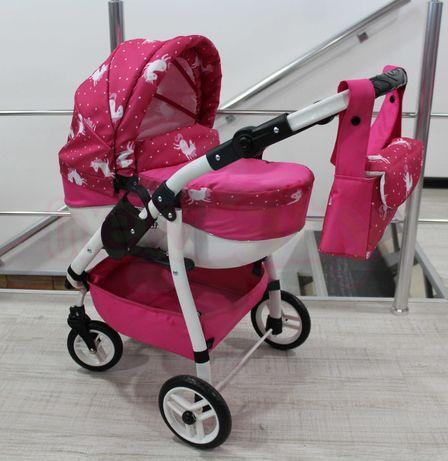 АКЦИЯ! Мега стильная коляска для кукол ADBOR LILY Sport! Супер цена!