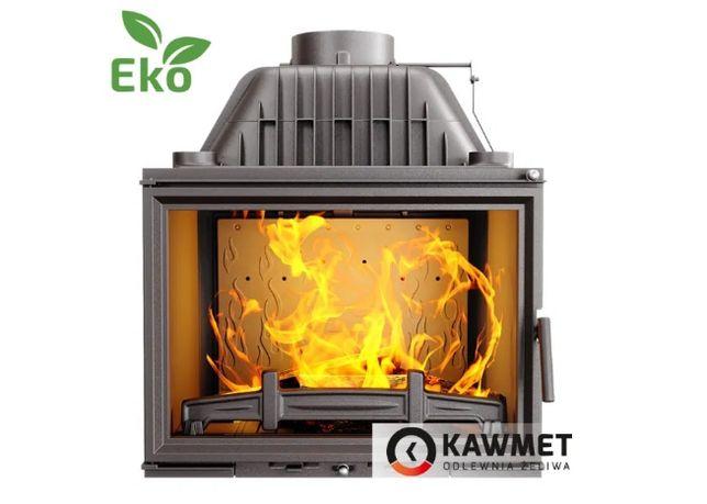 Каминная топка Kawmet W17 (16.1 kW) печь на дрова, топка в камин