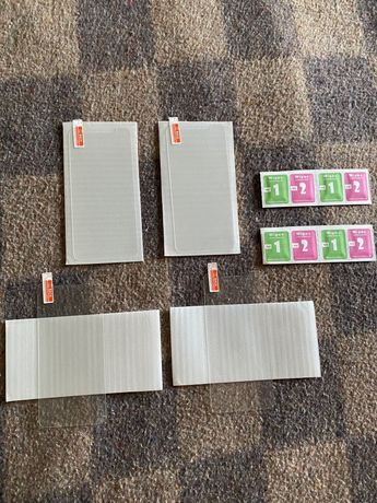 Lote de 4 películas novas de vidro temperado para Iphone X/XS