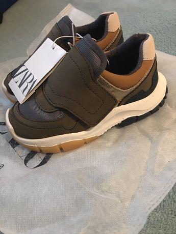 Nowe buty chłopięce zara rozm 24, wkładka 15cm