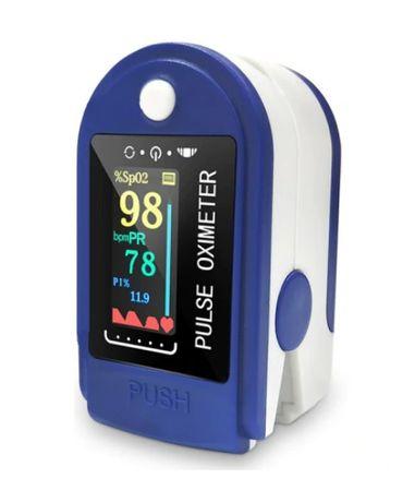 pulsoksymetr pulsometr napalcowy saturacja puls tętno