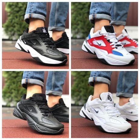Мужские кроссовки Nike M2K Tekno (черные) демисезонные кроссовки найк