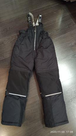 Теплые лыжные штаны, комбинезон на мальчика 104р
