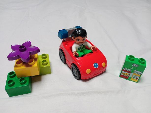 Klocki LEGO Duplo pierwsza pomoc 5793 karetka lekarz-Unikat