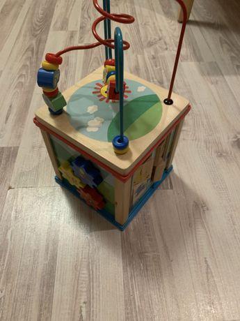 Sorter drewniany dla malych dzieci