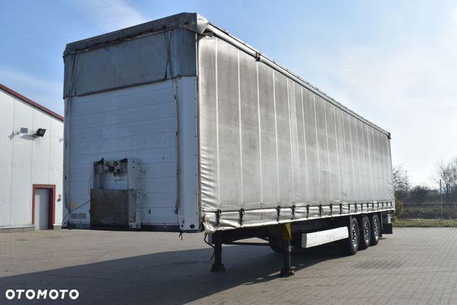 Schmitz Cargobull Scs  [12845], Kurtyna Ze Składanym Dachem, Osie