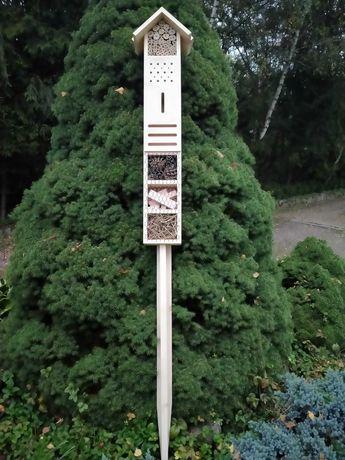 Hotel dla owadów, domek dla owadów, do ogrodu, na działkę, duży, 100cm