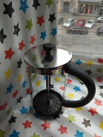 Френч-пресс заварник для чая Con Brio 800/1000ml диаметр колбы до 10см