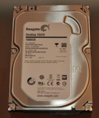 Seagate 1TB SSHD 7200 64MB SATA III (ST1000DX001)