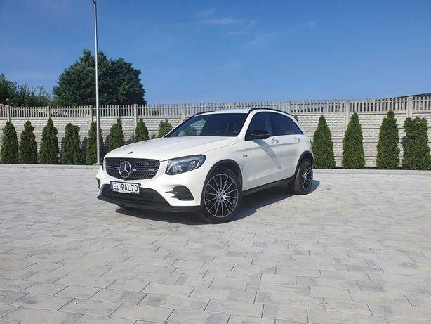 Auto do Ślubu Białe MERCEDES GLC AMG Nowoczesne Szybkie i Eleganckie