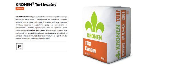 Kronen Torf kwaśny 200l