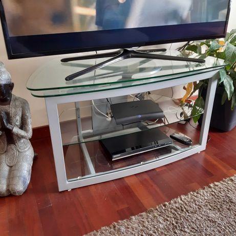 Mesa de Vidro Rotativa para TV