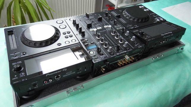 Top DJ 2xPioneer XDJ-700 + Mixer DJM-450 + Case