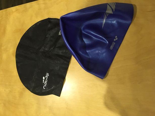 Toucas de natação e material de snorkeling/mergulho