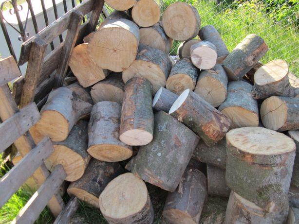 Drewno sezonowane drzewo świeże