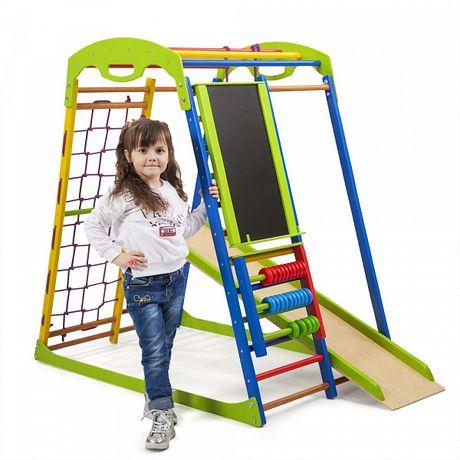 Детский спортивный комплекс от 1 до 7 лет + счеты. Доставка по Украине