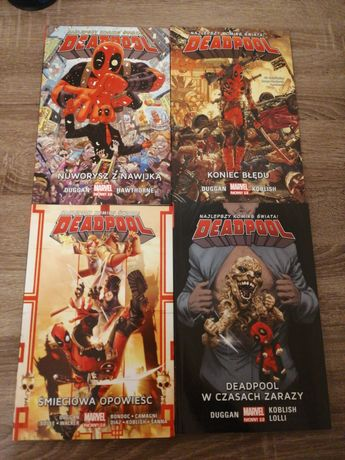 Deadpool Marvel Now 2.0 Egmont tomy 1, 2, 4, 6