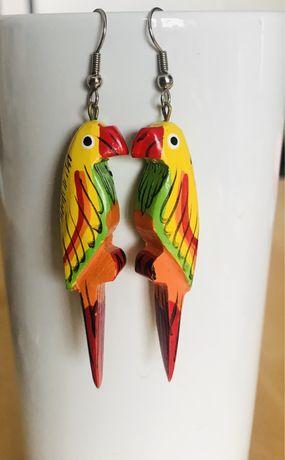 Kolczyki papugi
