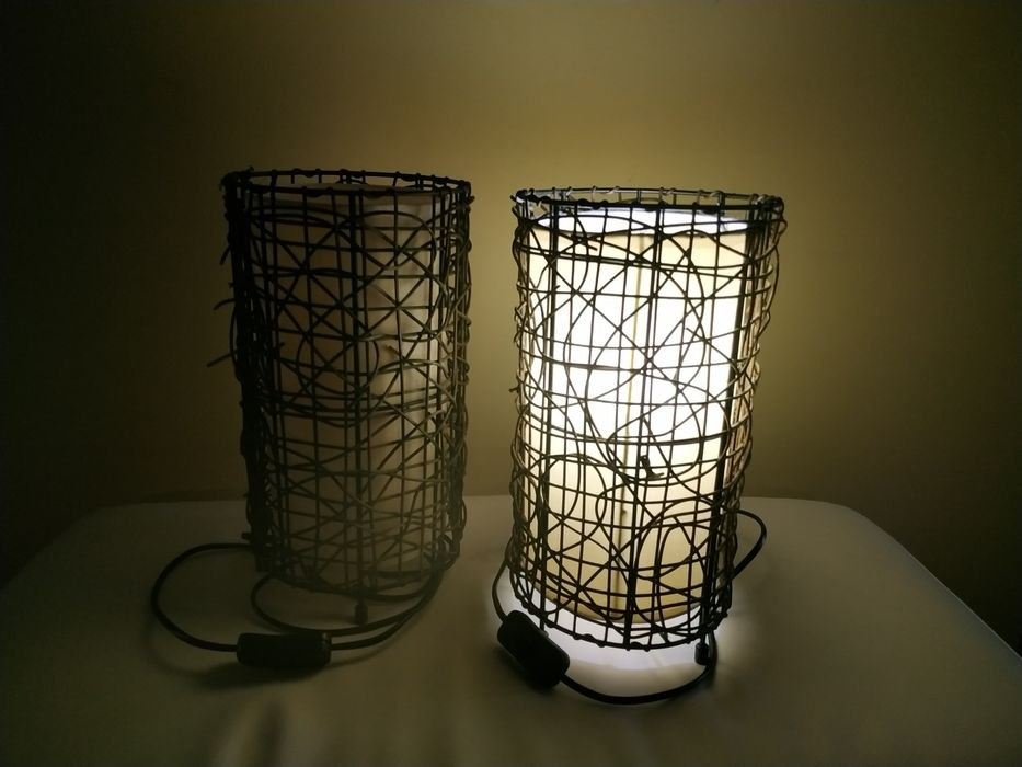 Conjunto de candeeiros de cabeceira ou mesa Lousã E Vilarinho - imagem 1