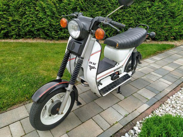 Simson Sr 50 Jak Nowy, WSK 125 (zamiana)