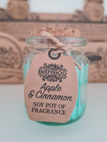 Velas aromáticas de soja