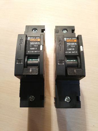 Выключатели автоматические 1-полюсные SE NG125N Multi 9 С10А и С16А