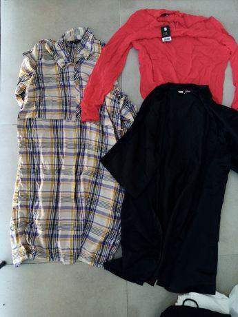 Sukienki bluzki spudnice rozmiar 40 - 42