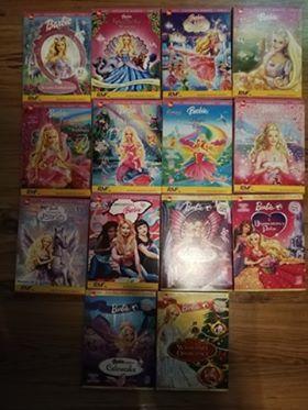 Barbie kolekcja płyt DVD dla dzieci