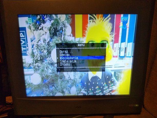 Telewizor JVC z monitorem dwa w jednym + drugi tv 22 cale