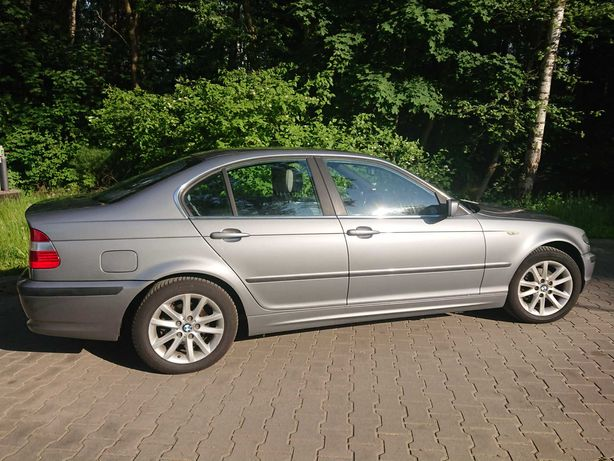 BMW E46 318i 143km *Skóry *Grzane fotele *Czujniki *Nowe opony *Alufel