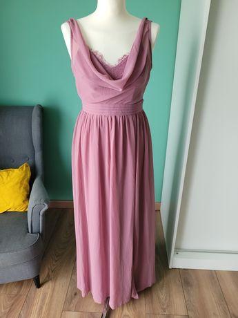 Fioletowa suknia, nowa