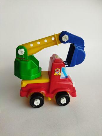 Машинка игрушка экскаватор