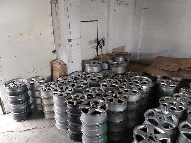 Hurt felg aluminiowych 19 18 17 Pakiet felg hurtem 15 5x112 5x100 16